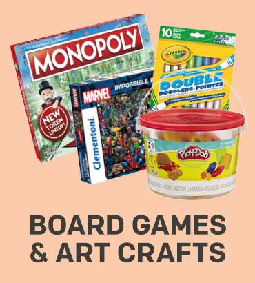 Board Games & Art crafts