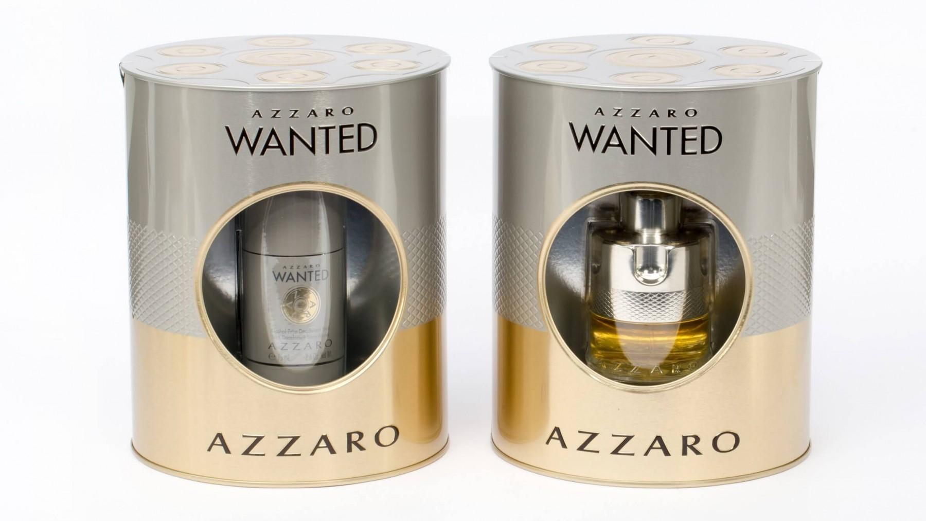 Azzaro Wanted Gift Set Eau De Toilette 50ml Deodorant Stick 75ml