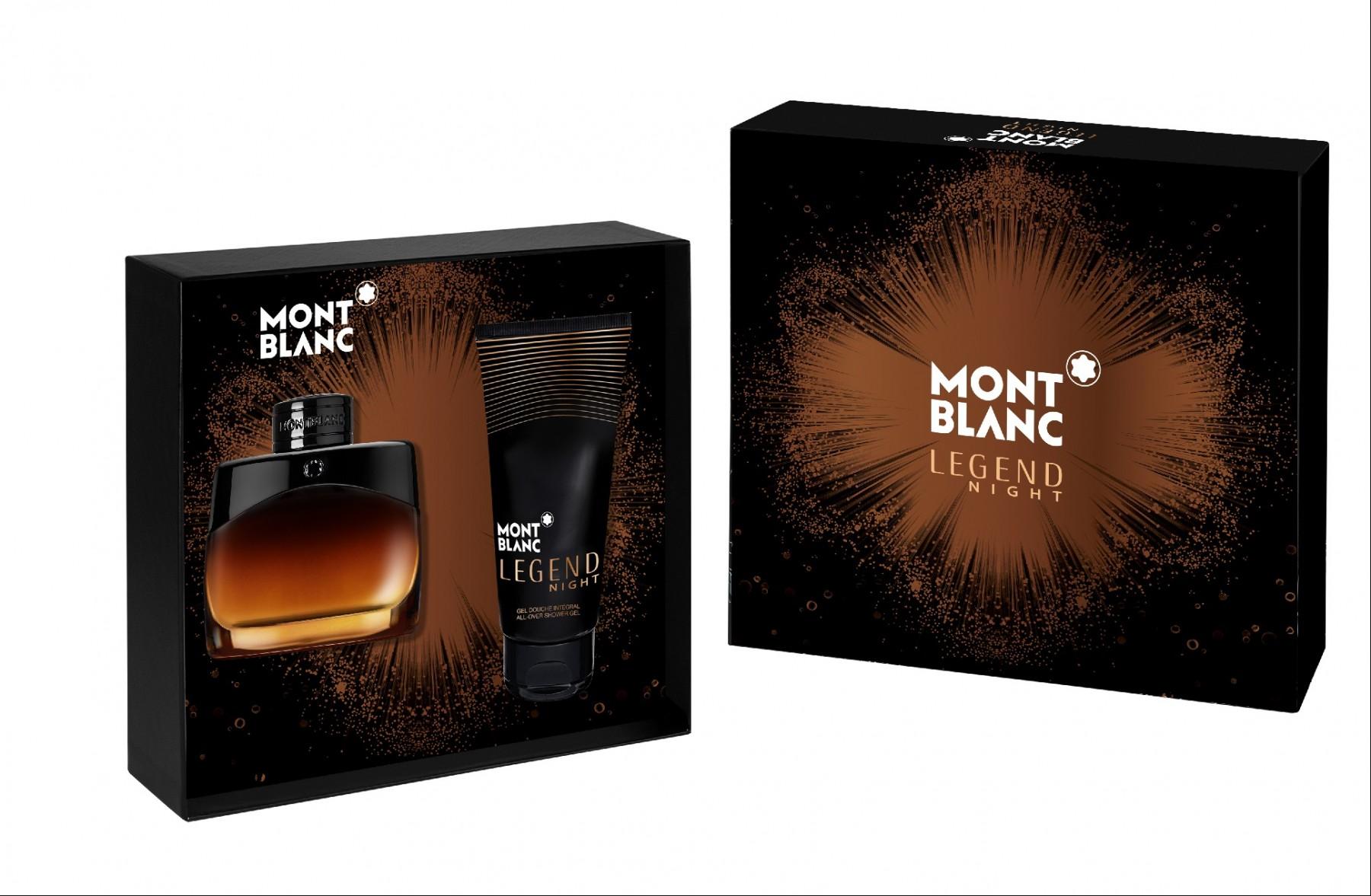 more photos 07e53 9a7bb Montblanc, Legend Night Gift Set, Eau De Parfum 50ml + Shower Gel 100ml