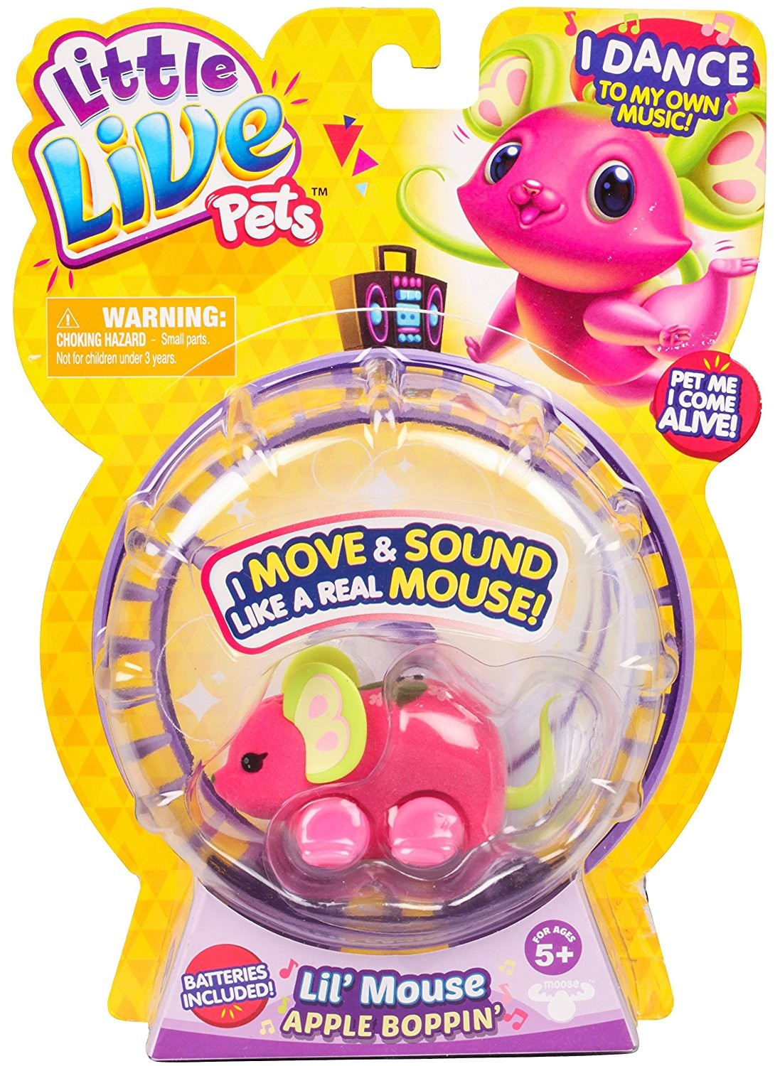 Moose Toys, Little Live Pets Mice Single Pack Series 3 $18 15 - + Buy Now