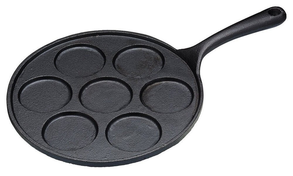Kitchencraft Cast Iron 7 Hole Blinis Pan Home Kitchen Hicart Com