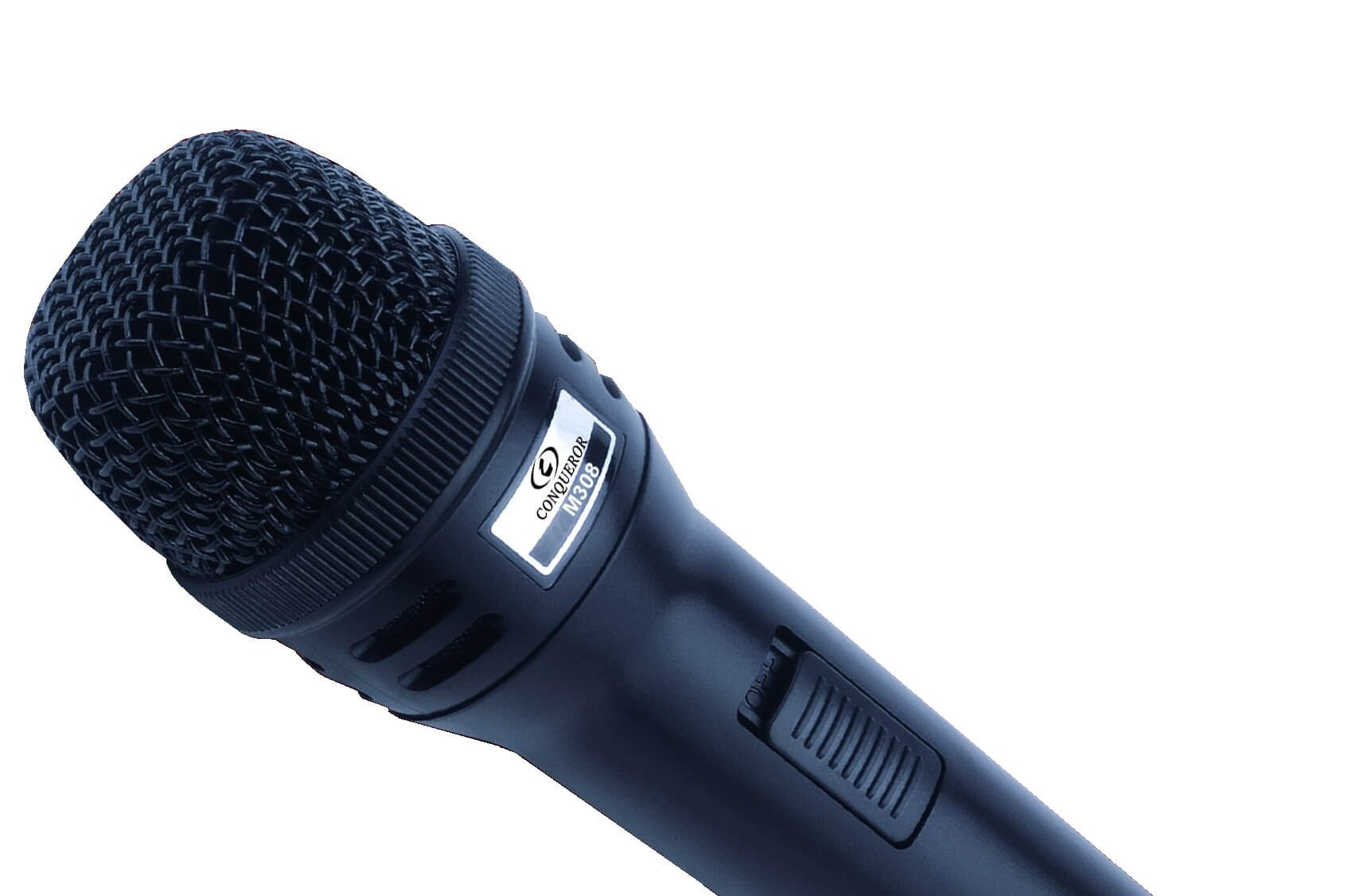 Conqueror Dynamic Microphone Handheld Wired - M308 - TV, Audio ...