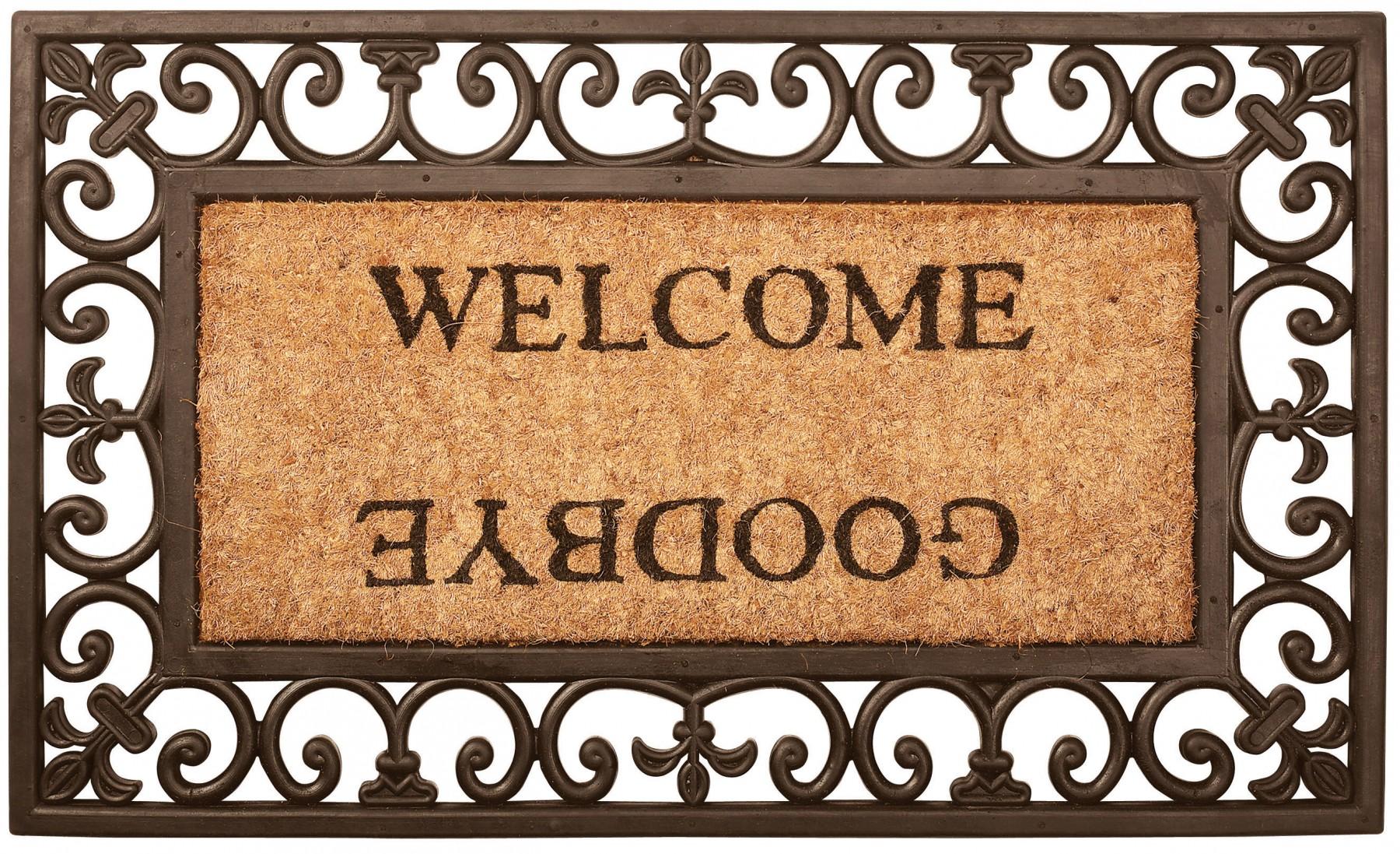 Esschert Design BV, Doormat Welcome/Goodbye - Home & Kitchen ...