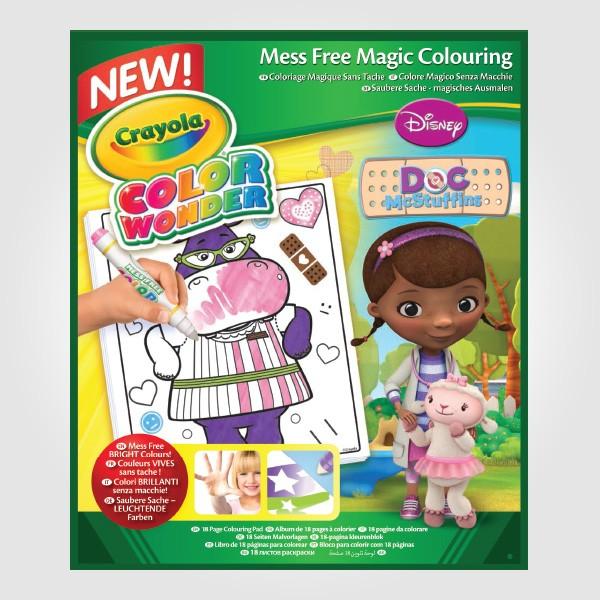 Crayola Doc Mcstuffins Refill Book Baby Toys Hicart Com