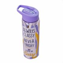 Home & Co, Plastic Water Bottle Purple