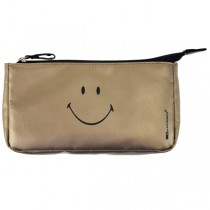 Incidence, Smiley Metallic Make Up Kit, Gold, 20 x 11 x 3.5 cm