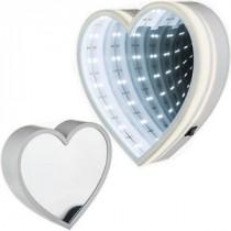 Everythink, plastic mirror heart