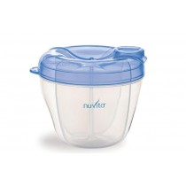 Nuvita - BLUE MILK POWDER CONTAINER AND DISPENSER