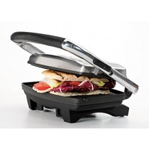 Ariete Toast and Grill Slim, 1000W, Chrome - 1911