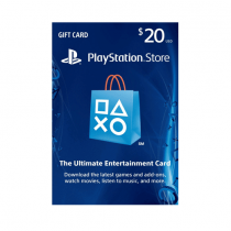 Sony Play station Live Cards Hang USD 50  LBP