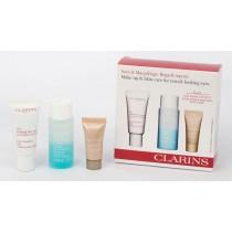 Clarins, Eye Contour Gift Set, Eye Contour Gel 20ml+Instant Eye Make Up Remover 30ml+Intsant Concealer 02 Medium 5ml