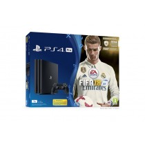 Sony Play Station 4PRO 1TB with PLUG, FIFA18, PS plus, 14DAYS
