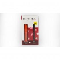 Rimmel Kit ScandalEyes Reloaded Mascara 001 Black 12ml + Free Soft Khol Pencil 061 Jet Black 1.2g
