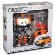 Happy Well, RC Hummer H2 Roadbot, Orange