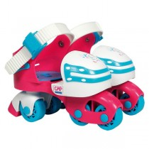 Cap Loisirs, Adjustable Rollers, Pink