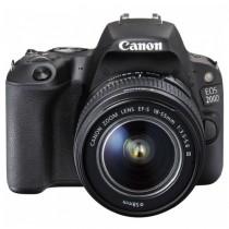 Canon EOS 200D Black 18-55 DC