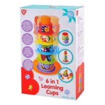 Playgo, 6 in 1 Learning Cups