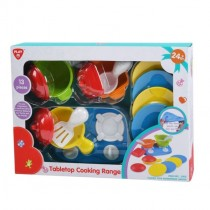 Playgo, TableTop Cooking Range, 13 pieces