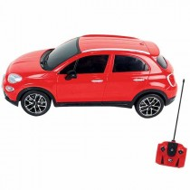 Team City, R/C Fiat 500 scale 1:18, Red