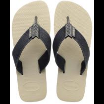 Havaianas, Urban Basic Beige Black 9446, Slippers