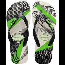 Havaianas, Aero Graphic White Black 0128, Slippers