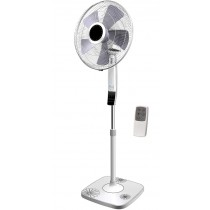Campomatic, Stand Fan 16 Remote Control, Auto Restart, 7.5 Hour Timer