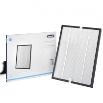 Delonghi Spare HEPA and Carbon Filter cartridge for AC 75