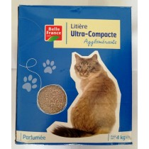 Belle France, Perfumed Compact Litter for Cats, 4 Kg, Set Of 4