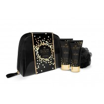 Grace Cole English Pear & Nectarine Blossom- Desire Gift Bag, Body Wash 100ml And Body Cream 100ml With Body Ball