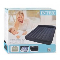 Intex, Queen Pillow Rest Classic Airbed, 203 x 183 x 30 cm