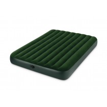 Intex, Queen Airbed with Separate Battery Pump, 152 x 203 x 22 cm