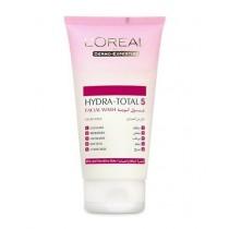 L'Oreal Paris Hydra-total 5 Gel Wash Dry And Sensitive Skin 150ml