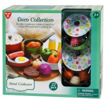 Playgo, Deco Collection Metal Cookware