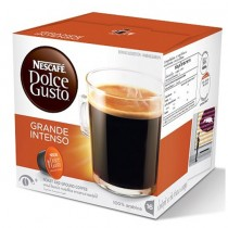 NESCAFE Dolce Gusto Grande Intenso Coffee Capsules (16 Capsules, 16 Cups)