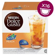 NESCAFE Dolce Gusto NESTEA Peach Capsules (16 Capsules, 16 Cups)