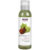 NOW, Grapeseed Oil 4 fl. oz.