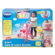 Vtech, 3 In 1 Care And Learn Stroller