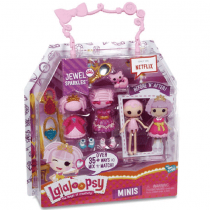 MGA, Mini Princess Dolls 4 Asst, 4 Pieces, Lalaloopsy