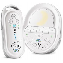 Philips Avent DECT Baby Monitor with Night Light and Lullabies - SCD506/05