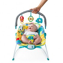 Bright Starts Safari Smiles Bouncer - 10880