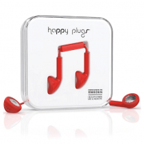 Happy Plugs Earbud Plus Headphone - Available in 4 colors