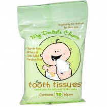 My Dentists Choice, Tooth Tissues, 30 Wipes