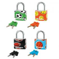 Master Lock, Aluminium Padlock, Sport Patten, 30 MM
