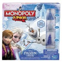 Monopoly Junior Board Game, Frozen Edition, English