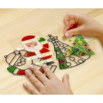 Melissa & Doug, Stained Glass - Ornaments