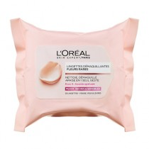 L'Oreal Paris Fine Flowers Cleansing Wipes Dry And Sensitive Skin 25 Wipes
