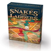Cardinal, Snakes and Ladders Traditions Game