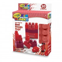 Crayola, Work My Color Is Red 20pc Set.