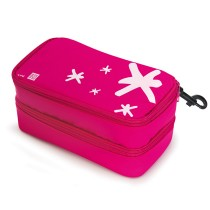 IRIS - Star Double LunchBox Pink