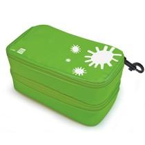 IRIS - Star Double LunchBox Green